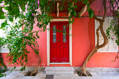 Picturesque house in Greece Stock Photos