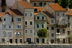 Picturesque houses in Bakar Royalty Free Stock Photo