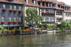 Picturesque houses in Bamberg, Germany Stock Image