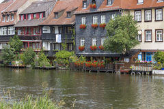 Picturesque houses in Bamberg, Germany Royalty Free Stock Image