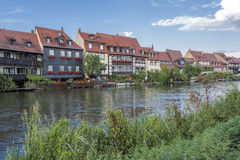Picturesque houses in Bamberg, Germany Stock Images