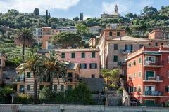 View of Recco, Italy Stock Photos