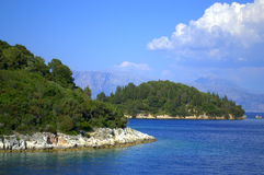 Picturesque Ionian islands view Royalty Free Stock Photo