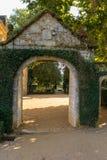The picturesque Jardins du Manoir d Eyrignac in Dordogne. France royalty free stock photos