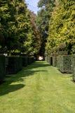 The picturesque Jardins du Manoir d Eyrignac in Dordogne. France stock photos