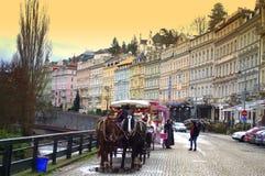 Picturesque Karlovy Vary Stock Photo