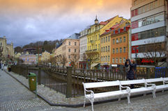 Picturesque Karlovy Vary Stock Photo