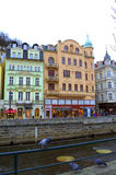 Picturesque Karlovy Vary Stock Photos