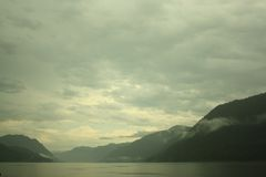 Picturesque lake Royalty Free Stock Photo