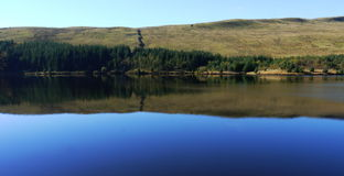 Picturesque lake or reservoir Royalty Free Stock Photography