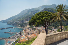 Picturesque landscape Amalfi, Gulf of Salerno, Italy Royalty Free Stock Photo
