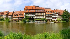 Picturesque landscape with Bamberg Bavaria Royalty Free Stock Photo