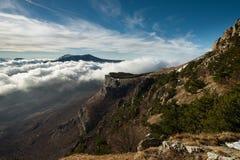 Picturesque landscape from Demerdzhi mountain Stock Photos