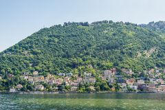 Lake Como in Italy Royalty Free Stock Images