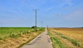 Picturesque  landscape near the village of  Lyons la Foret Stock Image