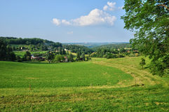 Picturesque landscape of Perigord near Sarlat Stock Images