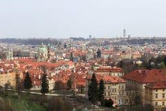 Picturesque landscape of Prague Stock Photography