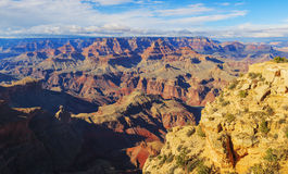 Picturesque landscape of rock formation in the Grand Canyon Stock Photography