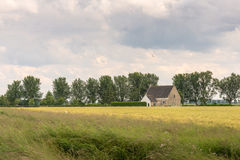 Picturesque landscape in a rural area Royalty Free Stock Photos