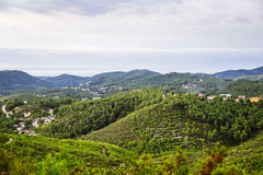 Picturesque landscape of Spain Stock Photography