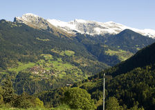 Picturesque landscape in switzerland Stock Photography