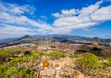 Picturesque landscape of the Tenerife north Stock Images