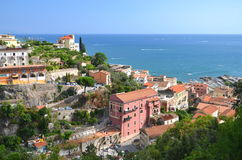 Picturesque landscape of vietri sul mare on amalfi coast, Italy Stock Photo