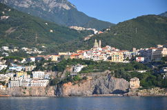 Picturesque landscape of vietri sul mare on amalfi coast, Italy Royalty Free Stock Photography