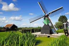 Picturesque landscape with windmills in Zaandijk Stock Photo