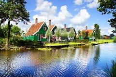 Picturesque landscape. Zaandijk Stock Photos
