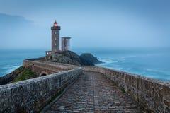 Le Petit Minou lighthouse, Bretagne, France. Picturesque Le Petit Minou lighthouse near Brest city, Bretagne, France royalty free stock images
