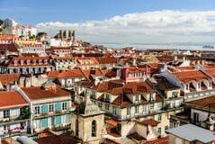 Picturesque Lisbon cityscape, Portugal Stock Images