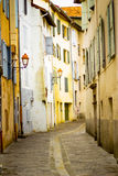 Picturesque little alley in the town of Gap. In France Royalty Free Stock Image
