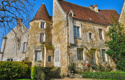 Picturesque little town of Mortagne au Perche in Normandie Royalty Free Stock Photography