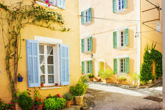 Picturesque Little Village in Provence Royalty Free Stock Image