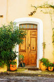 Picturesque Little Village in Provence Stock Photo