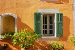 Picturesque Little Village in Provence Stock Photography