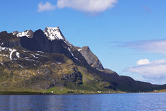 Picturesque Lofoten Royalty Free Stock Photo