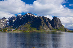 Picturesque Lofoten Stock Image