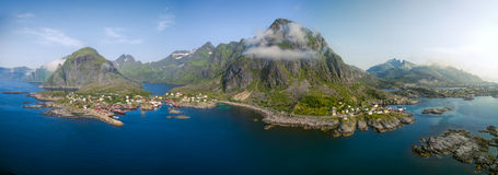Picturesque Lofoten in Norway Royalty Free Stock Photo