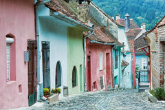 Picturesque medieval city Sighisoara, Romania. Stock Images