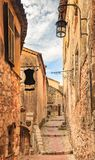 Picturesque Medieval Eze Village In South Of France Stock Images