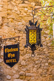 Picturesque Medieval Eze Village In South Of France Stock Photo