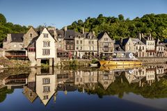 Dinan Brittany France Royalty Free Stock Images