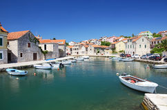 Picturesque mediterranean village Stock Image