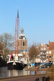Picturesque Meppel in the Netherlands Royalty Free Stock Photos