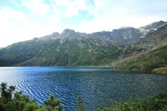 Free Picturesque Mountain Lake Sea Eye, The Fish Brook Valley/Poland. Stock Images - 129361854