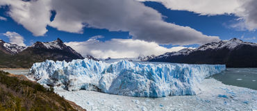Picturesque mountain landscape with Perito Moreno Glacier. Stock Photos