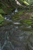 A picturesque mountain stream, along the haidouška song stock photography