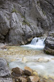 Picturesque mountain stream Royalty Free Stock Photos
